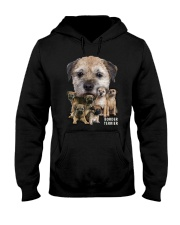 Border Terrier Awesome Family 0501 Hooded Sweatshirt thumbnail