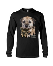 Border Terrier Awesome Family 0501 Long Sleeve Tee thumbnail