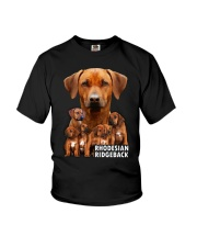 Rhodesian Ridgeback Awesome Family 0701 Youth T-Shirt thumbnail