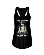 Siberian Husky Wings 0210 Ladies Flowy Tank thumbnail