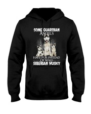 Siberian Husky Wings 0210 Hooded Sweatshirt thumbnail