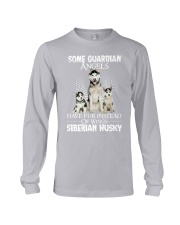 Siberian Husky Wings 0210 Long Sleeve Tee thumbnail