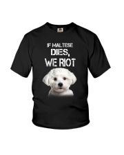 Maltese We riot 150319 Youth T-Shirt thumbnail
