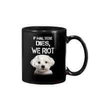 Maltese We riot 150319 Mug thumbnail