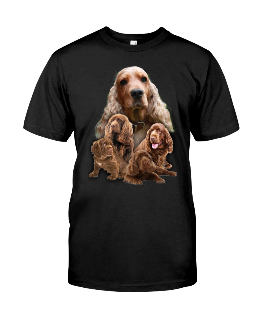 Sussex Spaniel Awesome Family 0701 Classic T-Shirt
