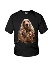 Sussex Spaniel Awesome Family 0701 Youth T-Shirt thumbnail
