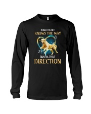 Golden Retriever and heart Long Sleeve Tee thumbnail