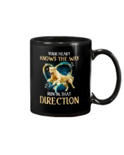 Golden Retriever and heart Mug thumbnail