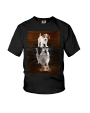 Jack Russell Terrier Believe Youth T-Shirt thumbnail