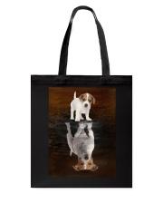 Jack Russell Terrier Believe Tote Bag thumbnail