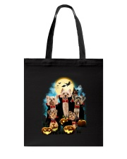 Yorkshire Terrier Dracula Family 1708 Tote Bag thumbnail