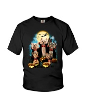 Yorkshire Terrier Dracula Family 1708 Youth T-Shirt thumbnail