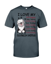 Old English Sheepdog Bed Hogging 3001 Classic T-Shirt tile