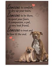American-Staffordshire-Terrier someone to comfort 11x17 Poster front