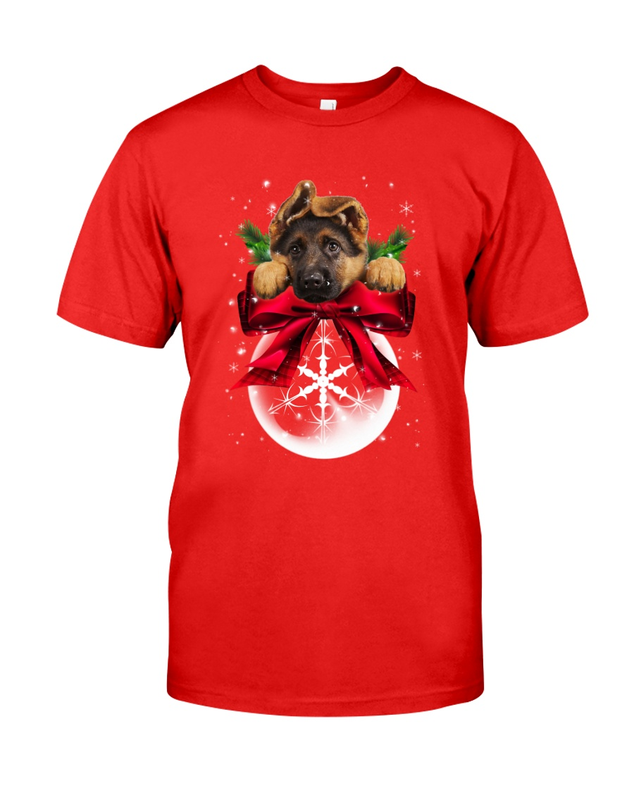 German Shepherd Noel Classic T-Shirt