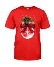 German Shepherd Noel Classic T-Shirt front