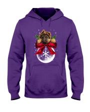 German Shepherd Noel Hooded Sweatshirt front