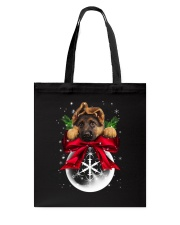 German Shepherd Noel Tote Bag tile