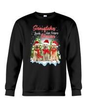 Golden Retriever Snowflakes Are Kisses 0510 Crewneck Sweatshirt front