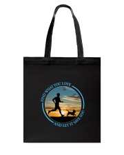 Walking Find What You Love Tote Bag thumbnail