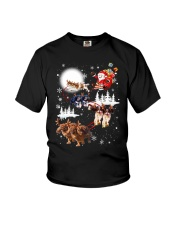 Cavalier King Charles Spaniel Reindeers Youth T-Shirt thumbnail
