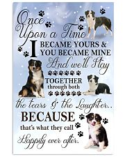 Miniature-Australian-Shepherd I Became Yours 1001  11x17 Poster front