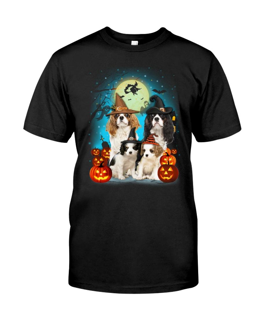 Gaea - Cavalier King Charles Spaniel Halloween Classic T-Shirt