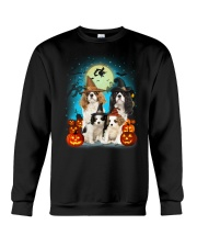 Gaea - Cavalier King Charles Spaniel Halloween Crewneck Sweatshirt thumbnail