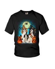Gaea - Cavalier King Charles Spaniel Halloween Youth T-Shirt tile