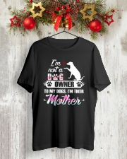 Dog Mother 1409 Classic T-Shirt lifestyle-holiday-crewneck-front-2