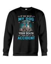 Great Dane Accident Crewneck Sweatshirt thumbnail