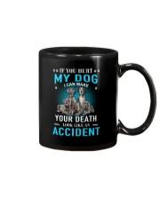 Great Dane Accident Mug thumbnail
