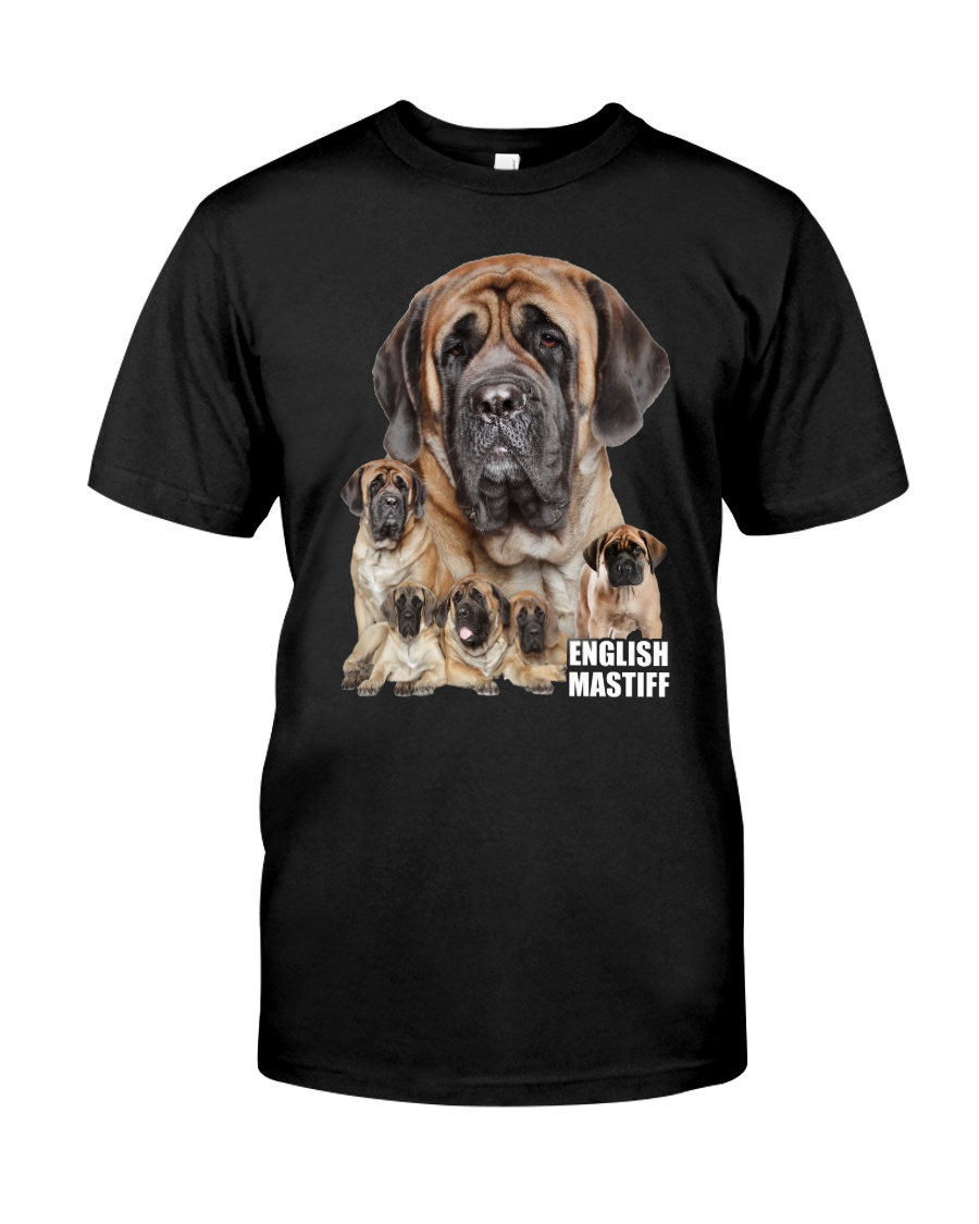 English Mastiff Awesome Family 0701 Classic T-Shirt