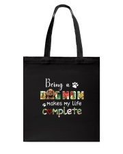 Dog Mom Complete Tote Bag thumbnail