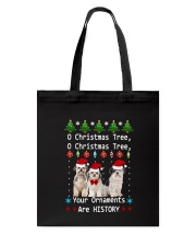O Christmas Tree Shih Tzu Tote Bag thumbnail