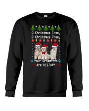 O Christmas Tree Shih Tzu Crewneck Sweatshirt tile