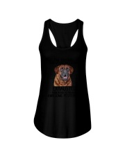 Mastiff trying to be awesome 180319  Ladies Flowy Tank thumbnail