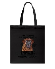 Mastiff trying to be awesome 180319  Tote Bag thumbnail