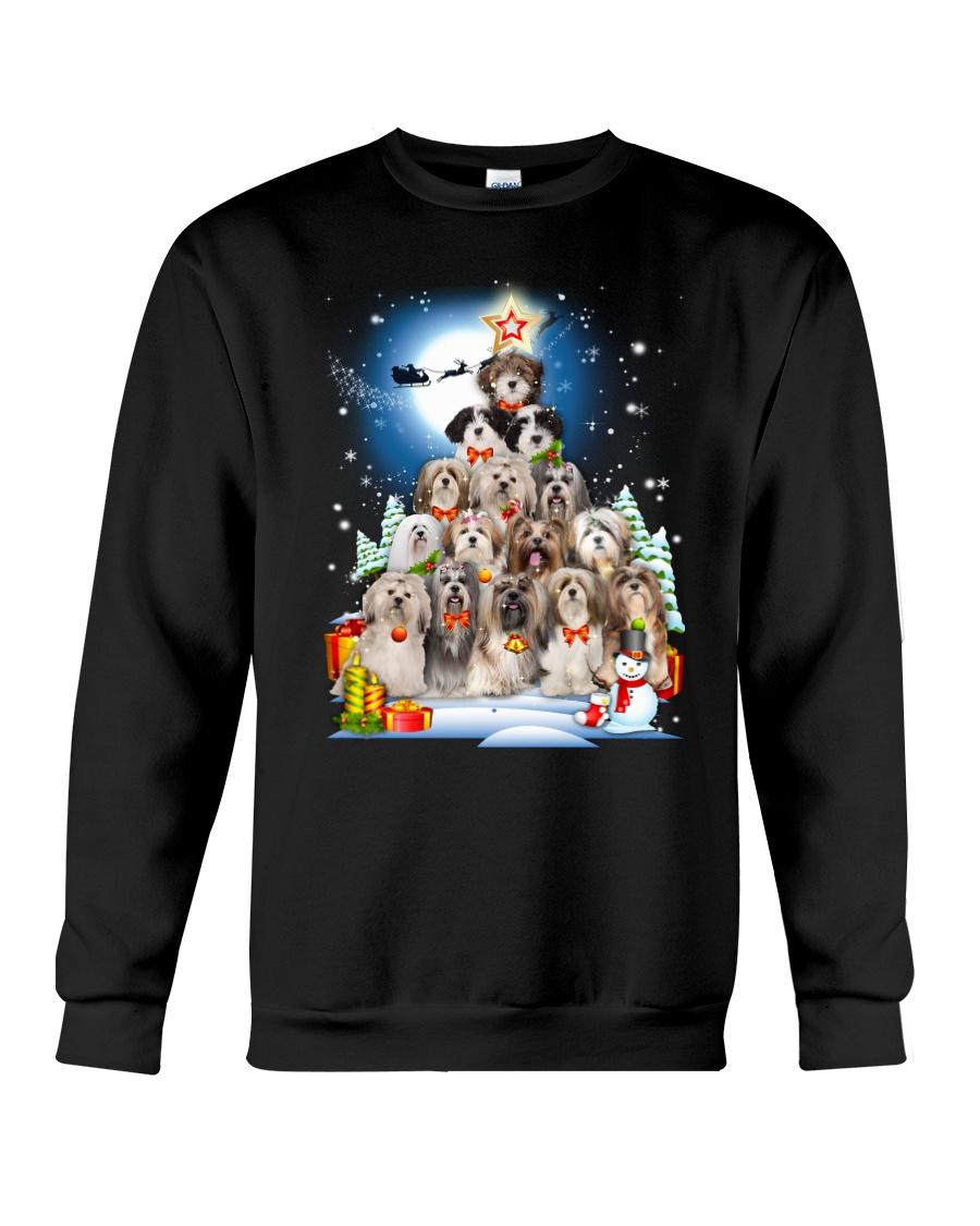Lhasa Apso Pine 0310 Crewneck Sweatshirt