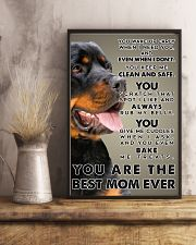 Rottweiler Best Mom Ever Poster 2512  11x17 Poster lifestyle-poster-3