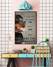 Rottweiler Best Mom Ever Poster 2512  11x17 Poster lifestyle-poster-6