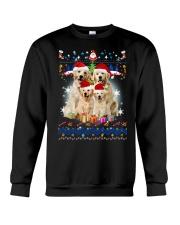 Golden Retriever Family Xmas 0210 Crewneck Sweatshirt front