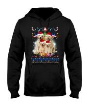 Golden Retriever Family Xmas 0210 Hooded Sweatshirt thumbnail
