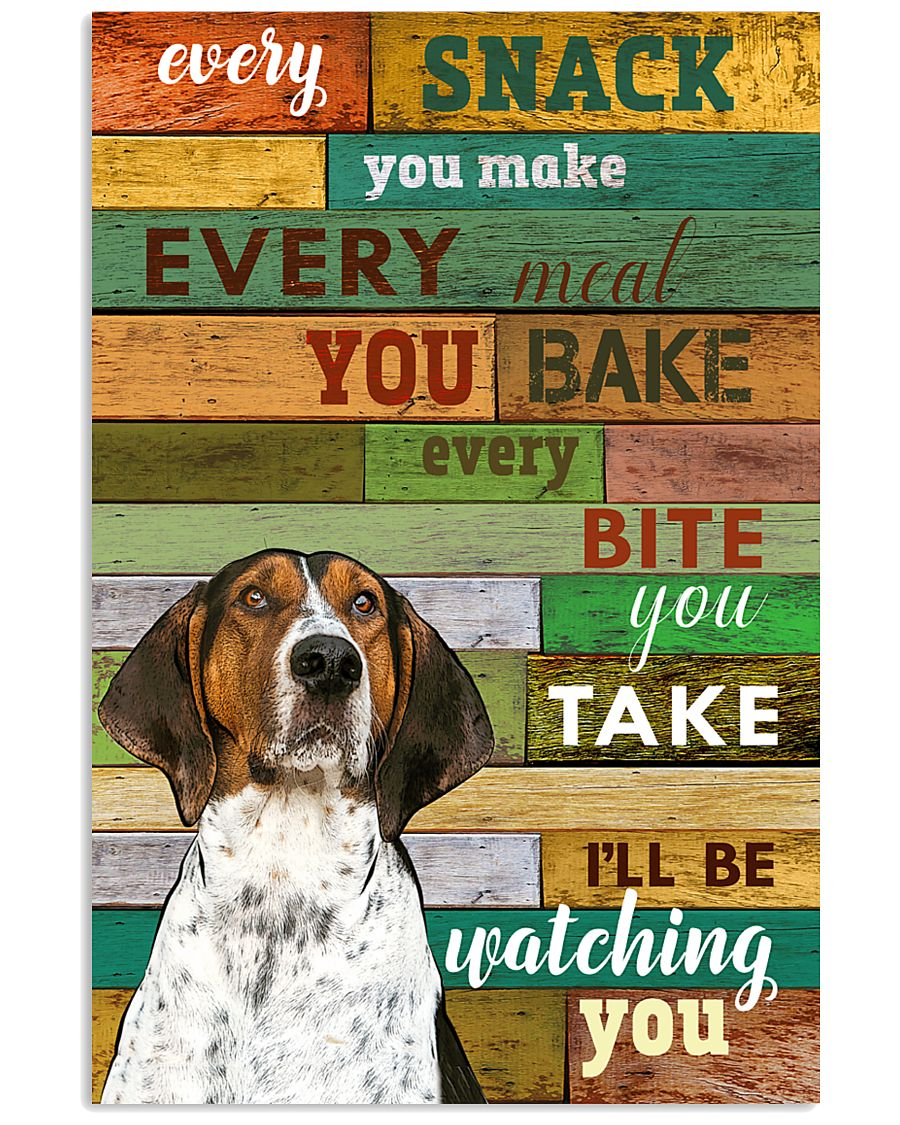 Treeing-Walker-Coonhound Watching You Poster 2601 11x17 Poster
