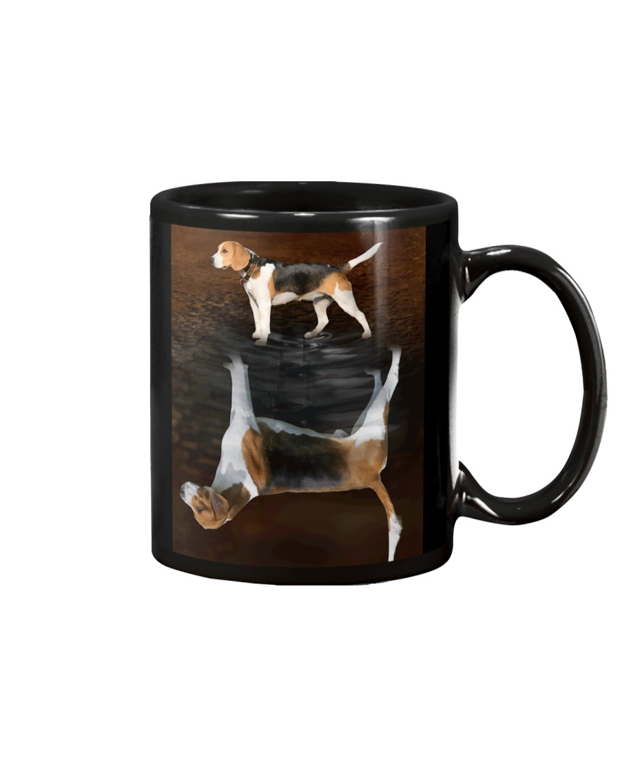 English Foxhound Reflection Mug 1312 Mug