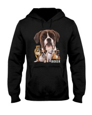 Boxer Awesome Family 0501 Hooded Sweatshirt thumbnail