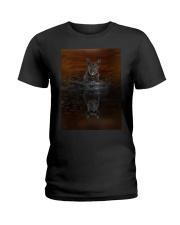 Scottish-Terrier Reflection Mug 1312 Ladies T-Shirt thumbnail