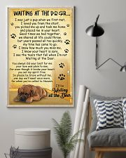 Dogue de Bordeaux Waiting At The Door Poster 2301 11x17 Poster lifestyle-poster-1