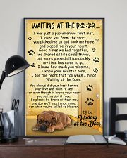 Dogue de Bordeaux Waiting At The Door Poster 2301 11x17 Poster lifestyle-poster-2