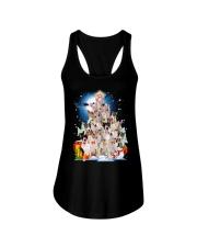 Bull Terrier Pine  Ladies Flowy Tank thumbnail